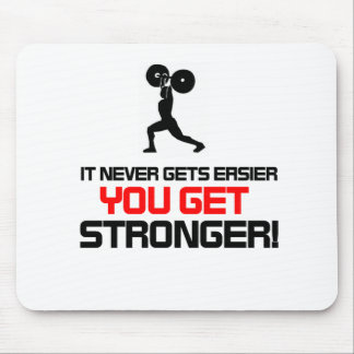 Funny Gym quote design Mouse Pad