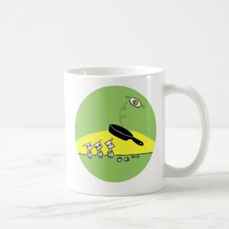 Funny Gymnastic Gift Mug Green Version