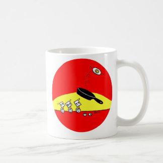 Funny Gymnastics Theme Cartoon Breakfast Coffee Mug