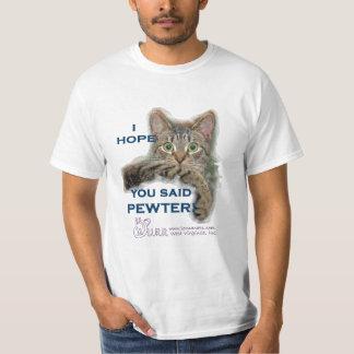 FUNNY HAHA says REAL MEN ADOPT! T-Shirt