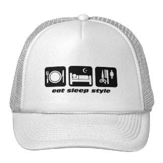 Funny hair stylist trucker hat