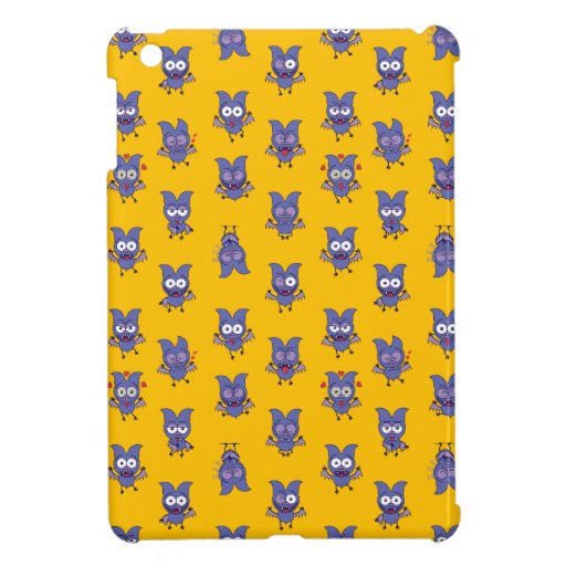Funny Halloween bat showing a series of moods Case For The iPad Mini