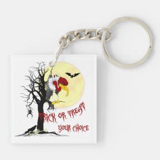 Funny Halloween Buzzard Keychain