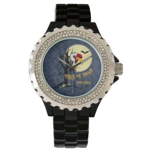Funny Halloween Buzzard Wrist Watches