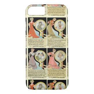 Funny Halloween Card Collage iPhone 8/7 Case