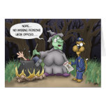 Funny Halloween Cards: Missing Persons