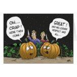Funny Halloween Cards: Pumpkin Perspective