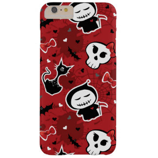 Funny Halloween Characters Pattern Barely There iPhone 6 Plus Case