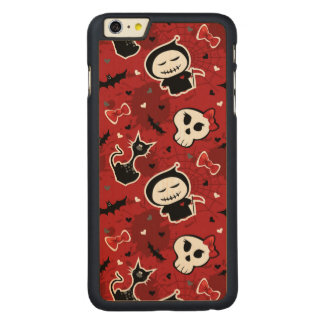 Funny Halloween Characters Pattern Carved® Maple iPhone 6 Plus Case