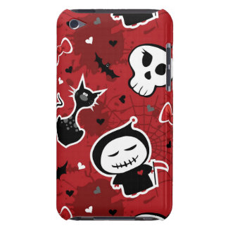 Funny Halloween Characters Pattern Barely There iPod Cases