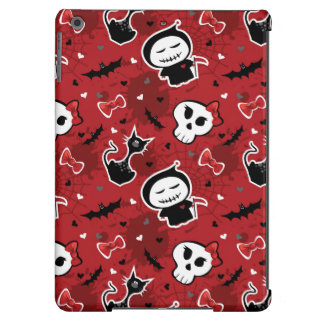 Funny Halloween Characters Pattern iPad Air Cover