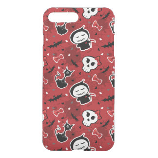 Funny Halloween Characters Pattern iPhone 7 Plus Case