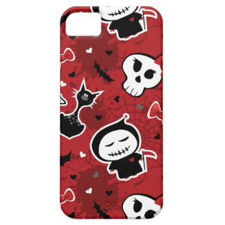 Funny Halloween Characters Pattern iPhone SE/5/5s Case