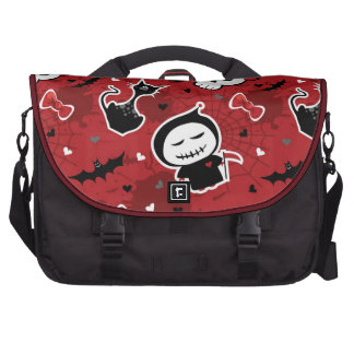 Funny Halloween Characters Pattern Computer Bag