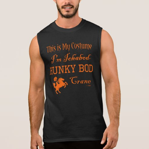 Funny Halloween Costume for Muscle Man Sleeveless Tee