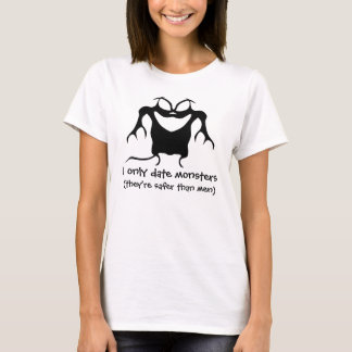 Funny Halloween dating creature T-Shirt