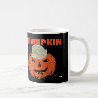 Funny Halloween Donal Trump Coffee Mugs, TRUMPKIN Coffee Mug