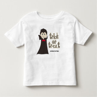 Funny Halloween Dracula Scary Trick or Treat Toddler T-shirt