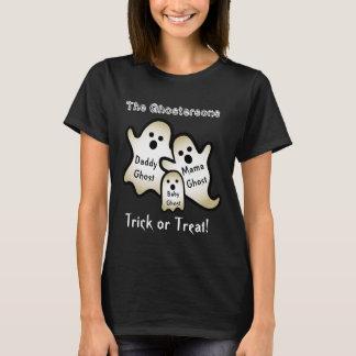 Funny Halloween Ghost Family Custom Text V05 T-Shirt