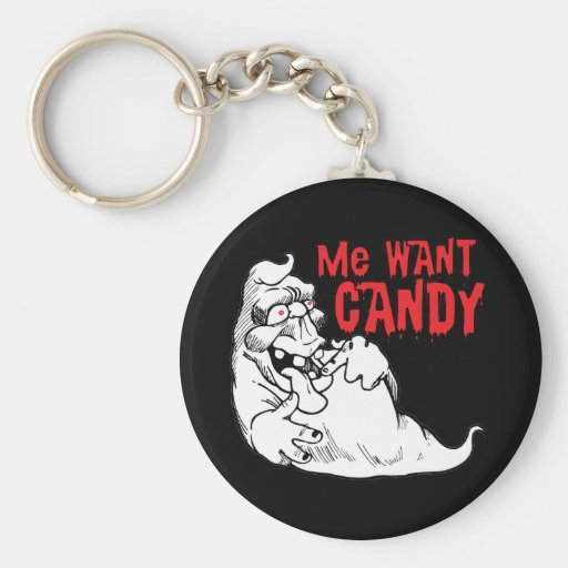 Funny Halloween Ghost Keychains