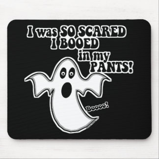 Funny Halloween Ghost Mouse Pad