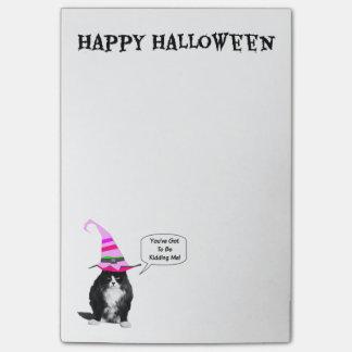 Funny Halloween Grumpy Cat Post-It-Notes Post-it® Notes