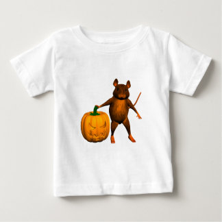 Funny Halloween House Mouse Rat Baby T-Shirt