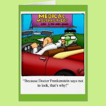 Funny Halloween Humor Greeting Card