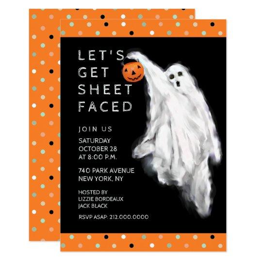 funny halloween invitations