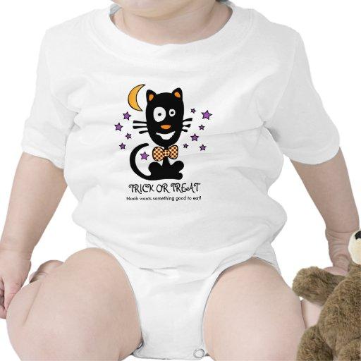 Funny Halloween Kitty Shirt