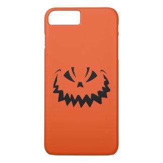 Funny Halloween Orange Jack O'Lantern iPhone 8 Plus/7 Plus Case