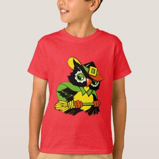 Funny Halloween Owl. Gift Kids T-Shirt