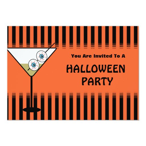Funny Halloween Party Invitation