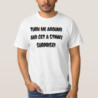 FUNNY HALLOWEEN POOPY SURPRISE TEE SHIRT