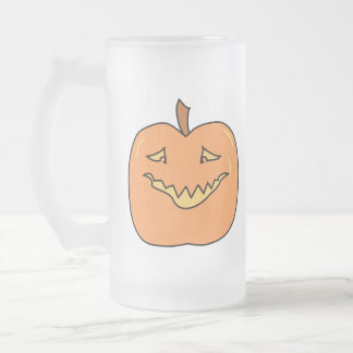 Funny Halloween Pumpkin Cartoon Mug