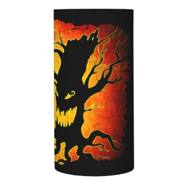 Halloween Themed Funny Halloween Skeleton Tree Trick or Treat Flameless Candle