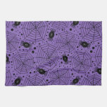 Funny Halloween Spiders Hand Towels