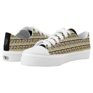 Funny Halloween Tarot Card Style Popular Sneakers