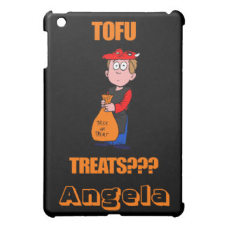 Funny Halloween Trick or Treat iPad Mini Cases