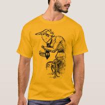 Funny Halloween Trump Scary Hellbeast T-Shirt