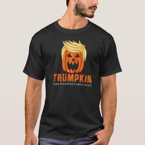 FUNNY HALLOWEEN TRUMPKIN PUMPKIN T_Shirt
