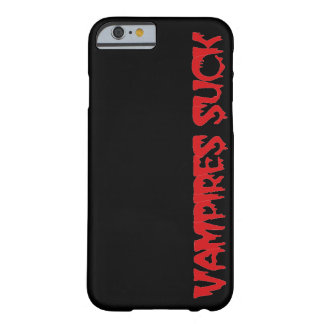 Funny Halloween Vampires Suck Barely There iPhone 6 Case