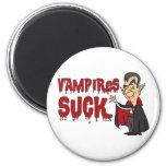 Funny Halloween Vampires Suck Magnet