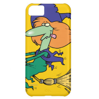 funny halloween witch cartoon iPhone 5C covers