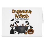 Funny Halloween Witch Halloween Card