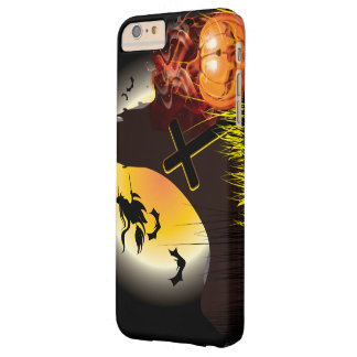 Funny Halloween Witch Party Barely There iPhone 6 Plus Case