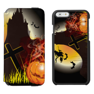 Funny Halloween Witch Party Incipio Watson™ iPhone 6 Wallet Case