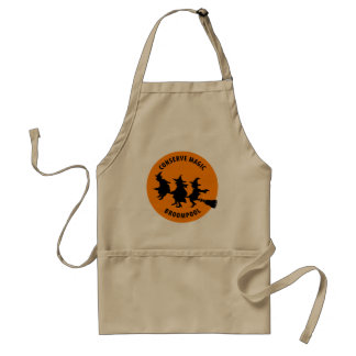 Funny Halloween Witches Adult Apron