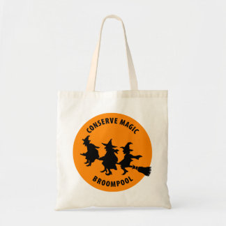 Funny Halloween Witches Canvas Bags