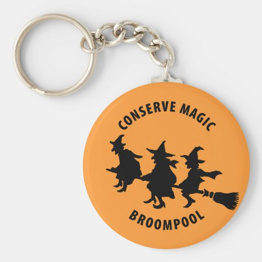 Funny Halloween Witches Keychain
